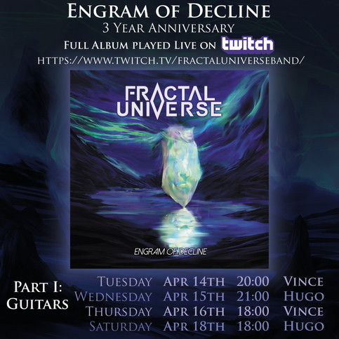 """Engram of Decline"" 3 Year Anniversary: New Video + Twitch Full Album Streams"