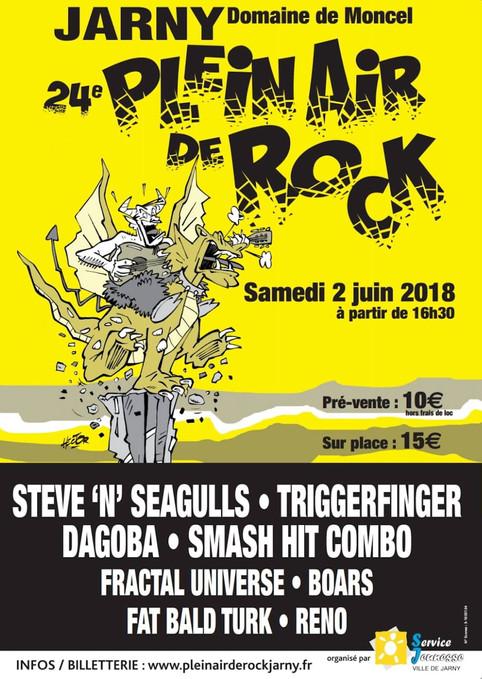 Fractal Universe to play at Plein Air de Rock 2018