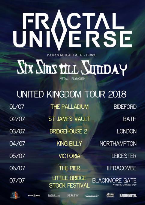 Fractal Universe announces UK Tour