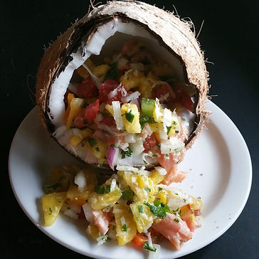 Breakfast food with link to more information about the culinary breakfasts we serve here at A Stone's Throw