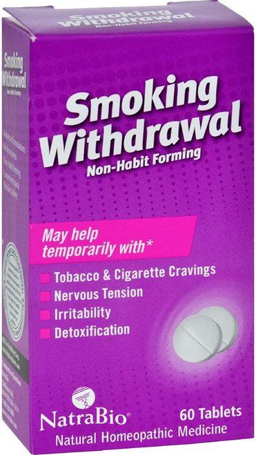 NatraBio Smoking Withdrawal  60 tabs