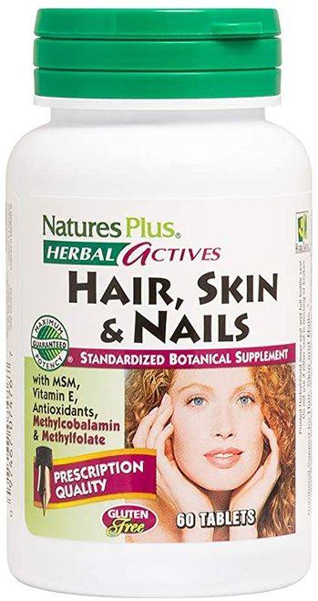 NaturesPlus Hair, Skin & Nails  60 tabs