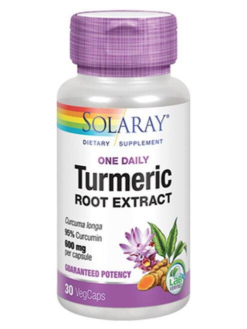Solaray Turmeric One Daily 600 mg  30 caps