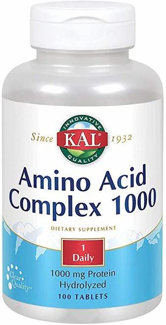 KAL Amino Acid Complex 1000 1 Daily  100 tabs