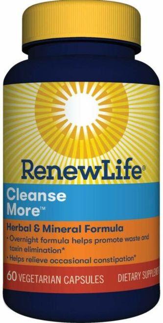 RenewLife Cleanse More  60 caps