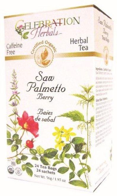 Celebration Organic Herbal Tea Saw Palmetto Berry  24 bags