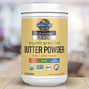 Garden of Life Dr. Formulated KETO Butter Powder  300 g