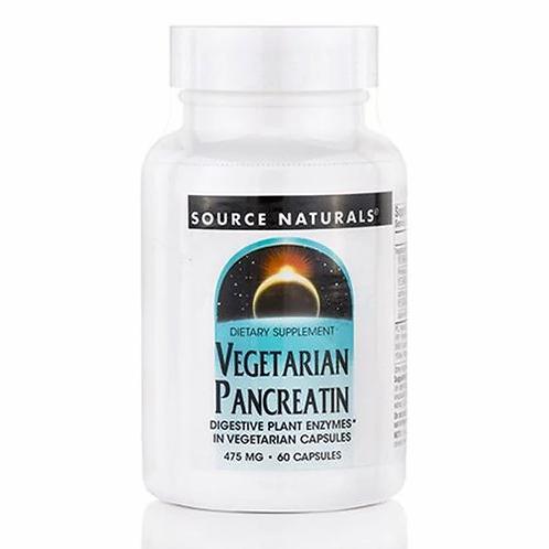 Source Naturals Vegetarian Pancreatin  60 caps
