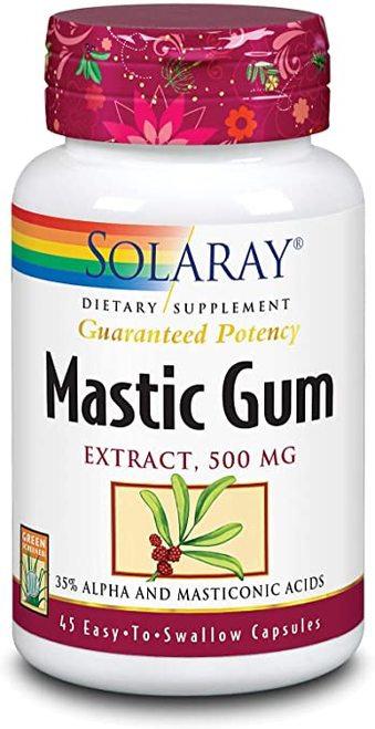 Solaray Mastic Gum Extract 500 mg  45 caps