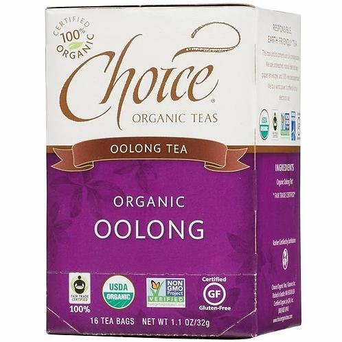 Choice Organic Teas Oolong  16 bags