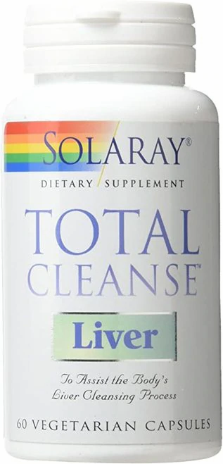 Solaray Total Cleanse Liver  60 caps