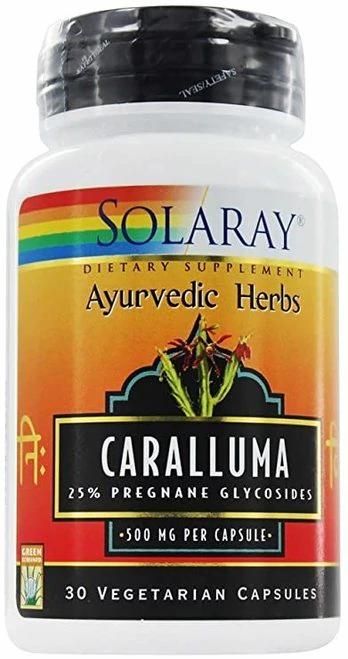 Solaray Caralluma 500 mg  30 caps