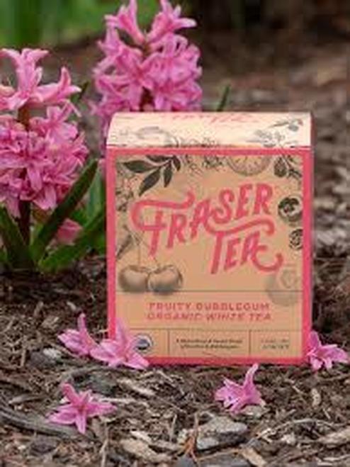 Fraser Tea Fruity Bubblegum Organic White Tea  12 bags
