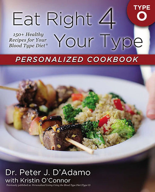 Eat Right 4 Your Type O  Dr. Peter J. D'Adamo