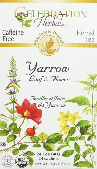Celebration Organic Herbal Tea Yarrow Leaf & Flower  24 bags