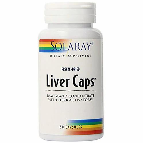 Solaray Liver Caps  60 caps