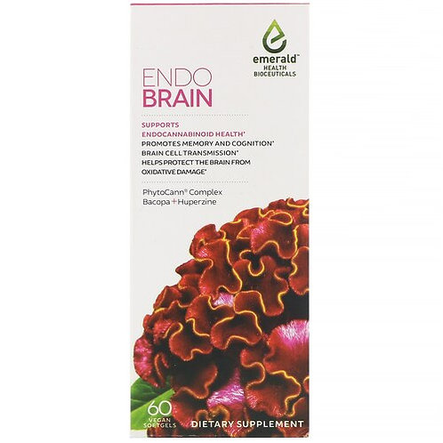 Emerald Health Bioceuticals Endo Brain  60 softgels