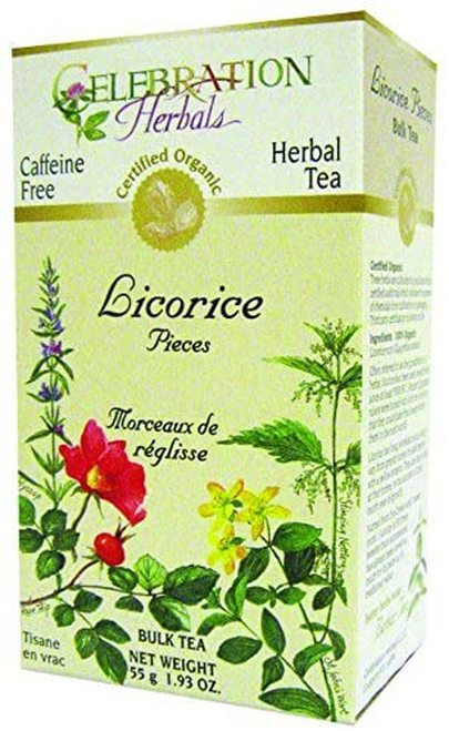 Celebration Organic Herbal Tea Licorice Pieces  55 g