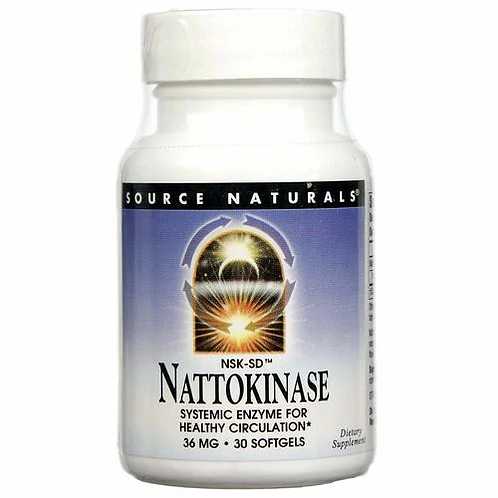 Source Naturals Nattokinase  30 softgels