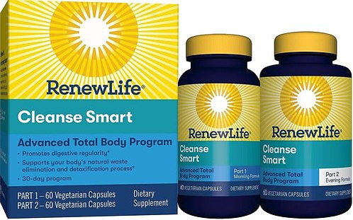 RenewLife Cleanse Smart  120 caps