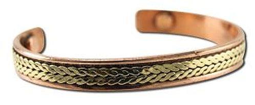 MRH International Copper Magnetic Bracelet Elegant  1 ct