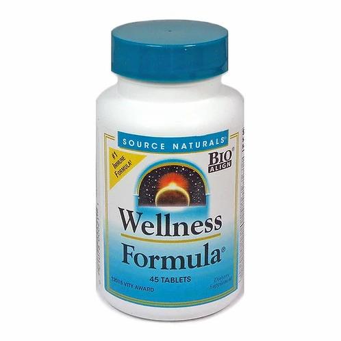 Source Naturals Wellness Formula  45 tabs