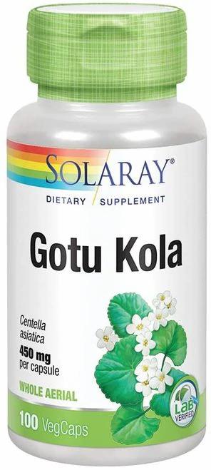 Solaray Gotu Kola 450 mg  100 caps