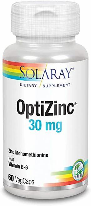 Solaray OptiZinc 30 mg  60 caps