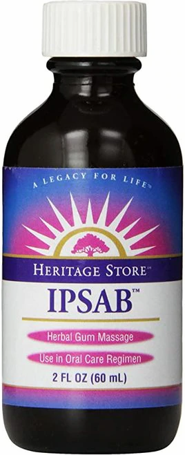 Heritage Store IPSAB Herbal Gum Treatment  60 ml