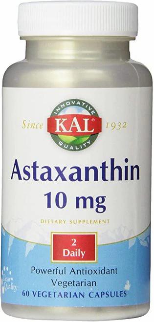 KAL Astaxanthin 10 mg 2 Daily  60 caps