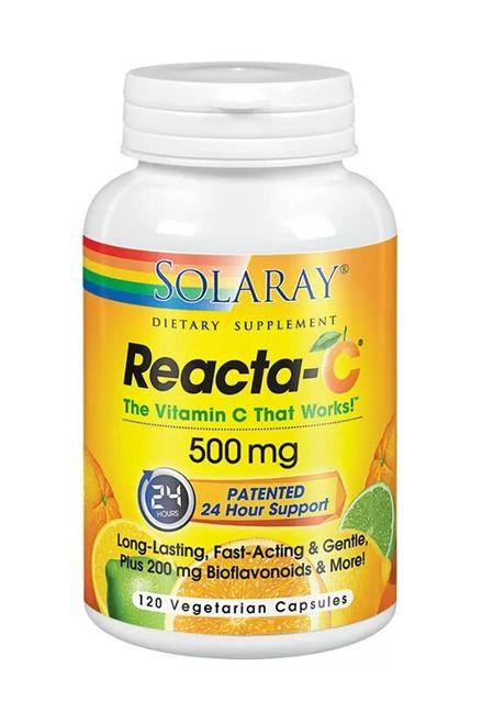 Solaray ReactaC 500 mg  120 caps