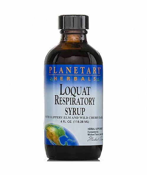 Planetary Herbals Loquat Respiratory Syrup  118.28 ml
