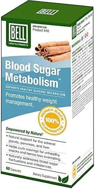 Bell Lifestyle Products Blood Sugar Metabolism  60 caps
