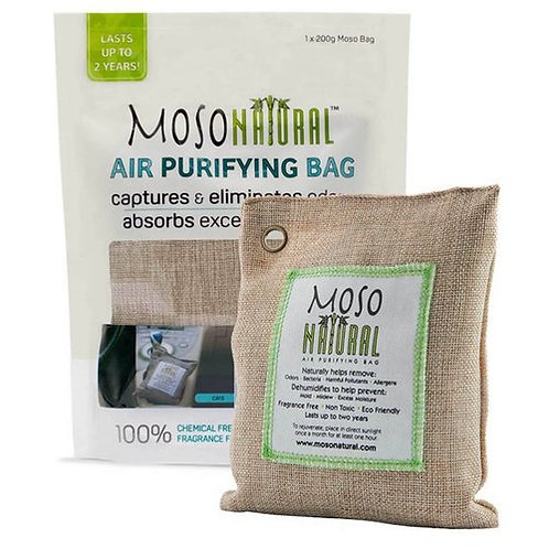 Moso Natural Air Purifying Bag 200 g  90 sq ft