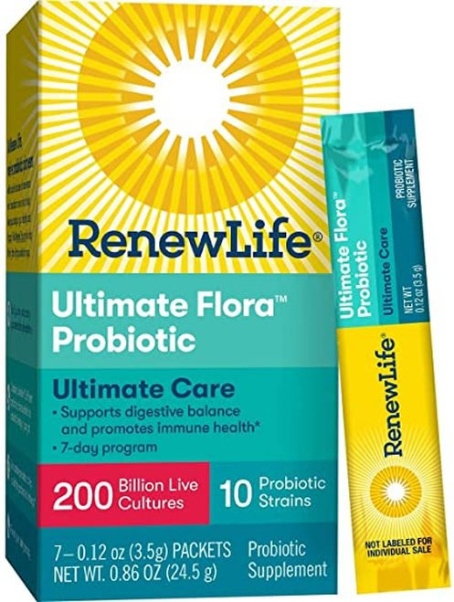 RenewLife Ultimate Flora Probiotic  7 packets