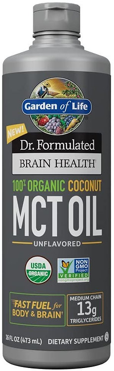 Garden of Life Dr. Formulated MCT Oil Unflavored