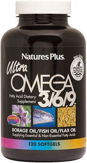 NaturesPlus Ultra OMEGA 3-6-9  120 softgels