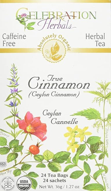 Celebration Organic Herbal Tea True Cinnamon  24 bags