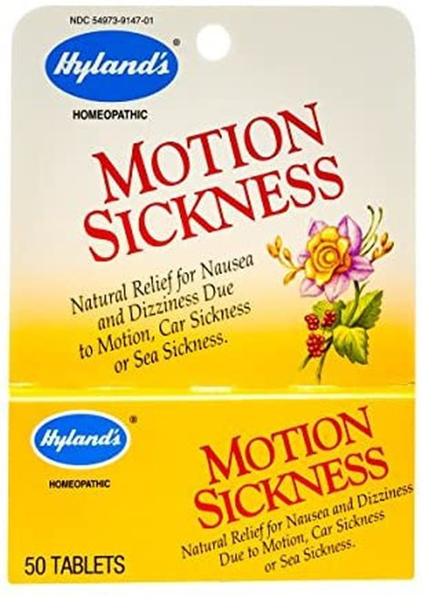Hyland's Motiion Sickness  50 tabs