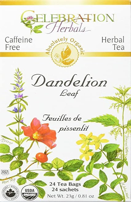 Celebration Organic Herbal Tea Dandelion Leaf  24 bags