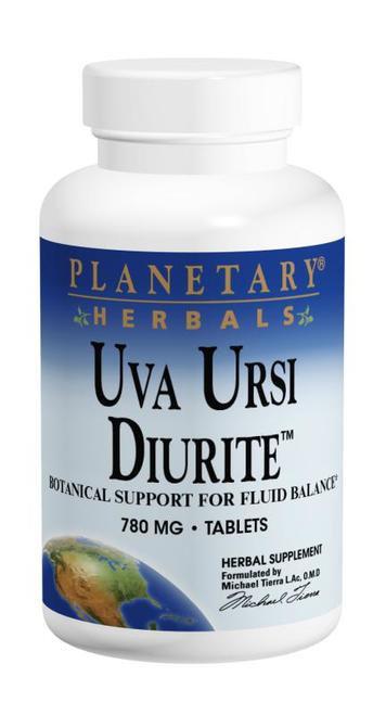 Planetary Herbals Uva Ursi Diurite 780 mg  72 tabs
