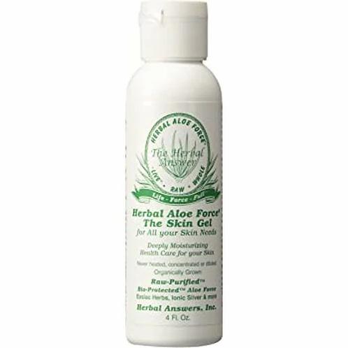 Herbal Aloe Force Skin Gel   4 oz