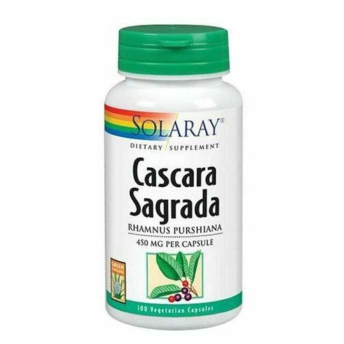 Solaray Cascara Sagrada 450 mg  100 caps