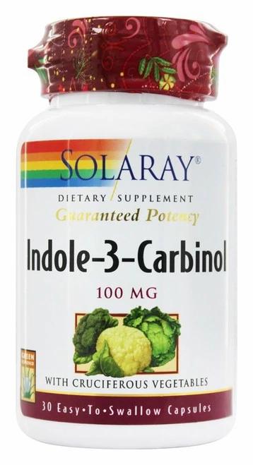 Solaray Indole-3-Carbinol  30 caps