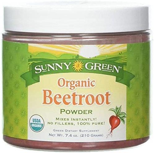 Sunny Green Beetroot Powder Organic  210 g