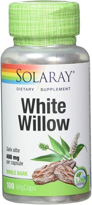 Solaray White Willow 400 mg  100 caps