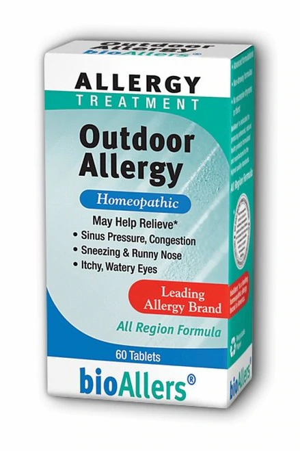 bioAllers Outdoor Allergy  60 tabs