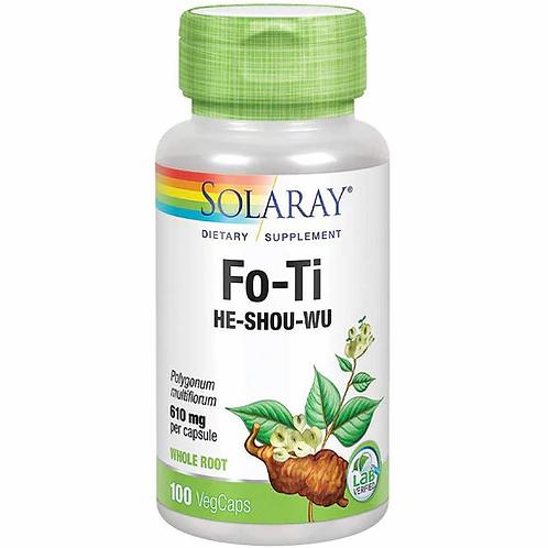 Solaray Fo-Ti  He-Shou-Wu  610 mg  100 caps