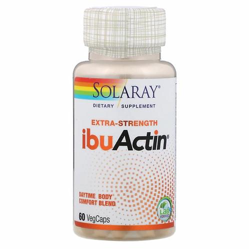 Solaray IbuActin Daytime  60 caps