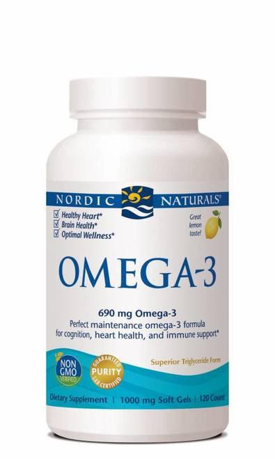 Nordic Naturals Omega-3 690 mg Omega-3 120 ct.